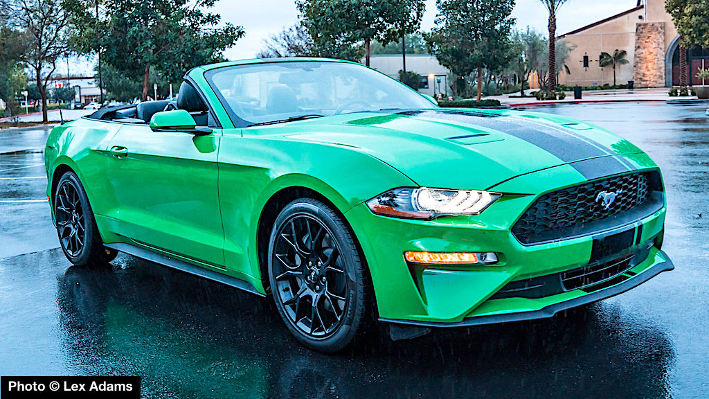 2019 Ford Mustang Ecoboost Convertible Review Turbocharged Top Down Fun Machine Carnichiwa