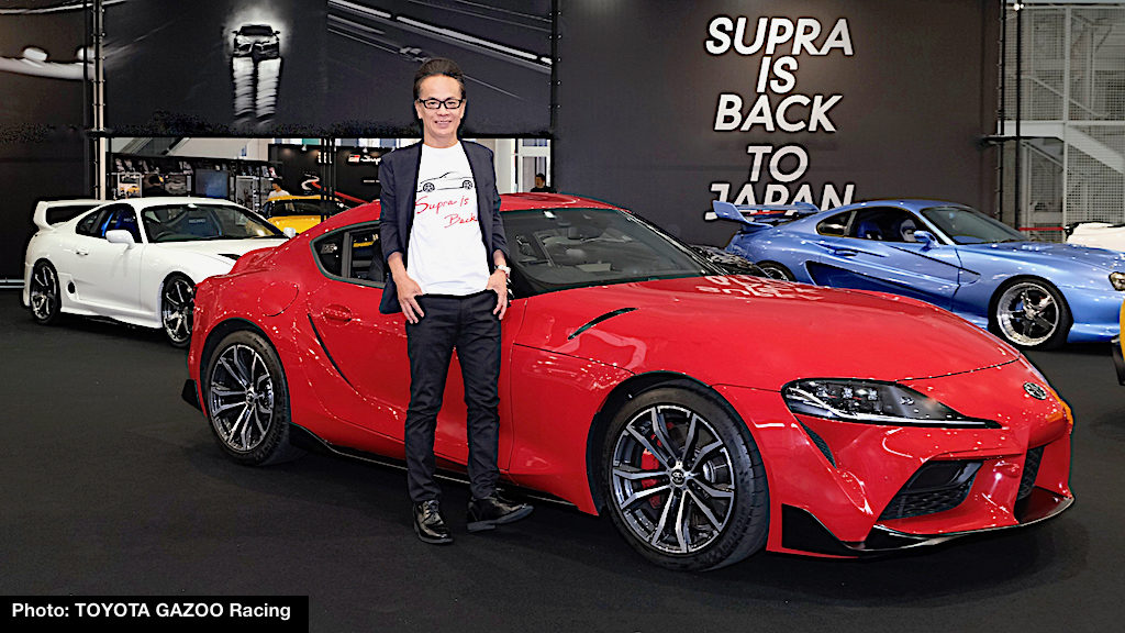 ef89fe83ab The new Supra features high structural rigidity, said to be greater than  the Lexus LFA supercar, a center of gravity lower than the Toyota 86, ...
